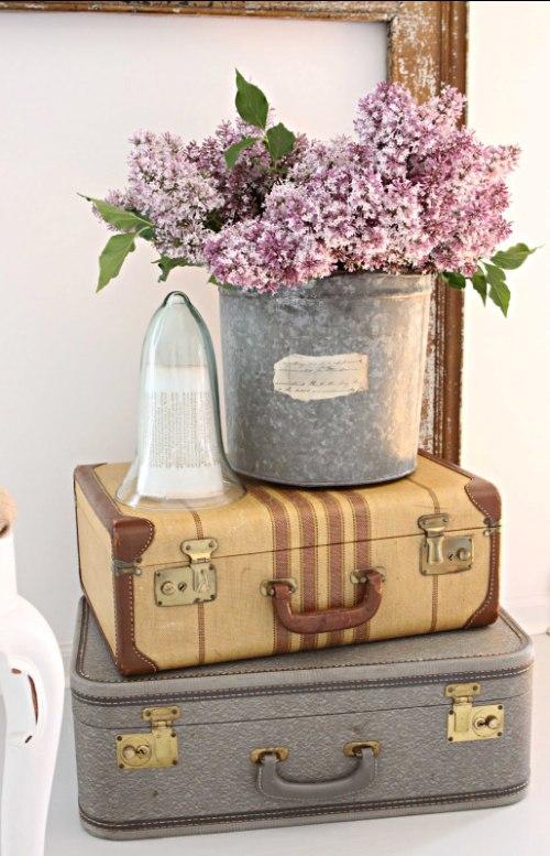 Las todopoderosas maletas vintage no es m s de lo mismo for Maletas vintage decoracion