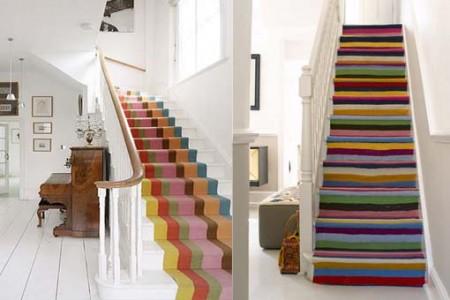 Dale onda a tu escalera no es m s de lo mismo for Escaleras con alfombra