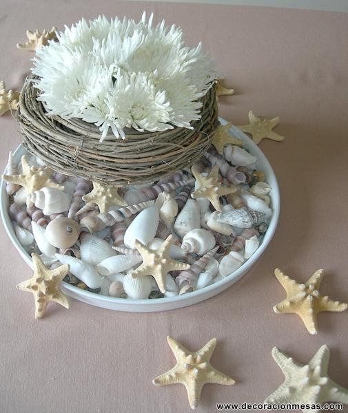 Decora con conchas marinas no es m s de lo mismo - Decoracion con conchas ...