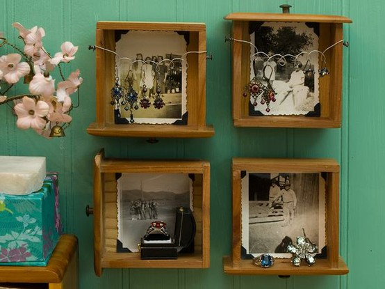 Mogoll n de ideas para reciclar cajones no es m s de lo - Ideas para reciclar muebles viejos ...