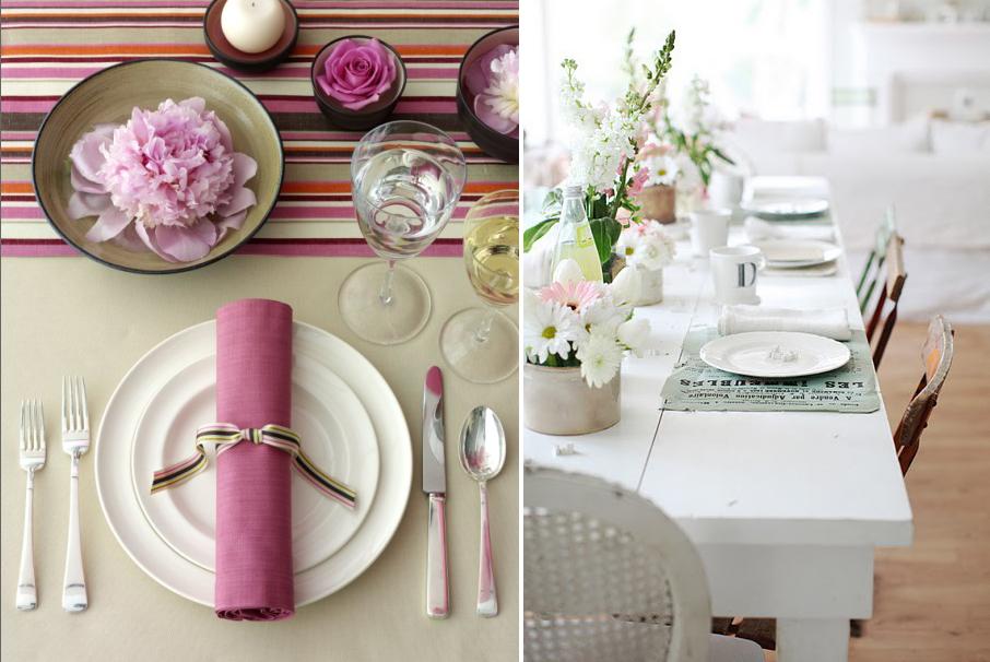 ideas para decorar la mesa no es m s de lo mismo
