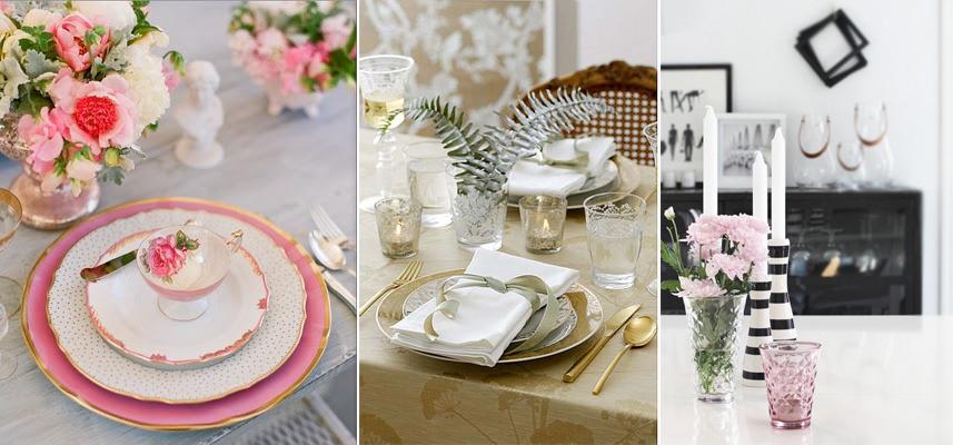 Ideas para decorar la mesa no es m s de lo mismo - Ideas cena amigos ...