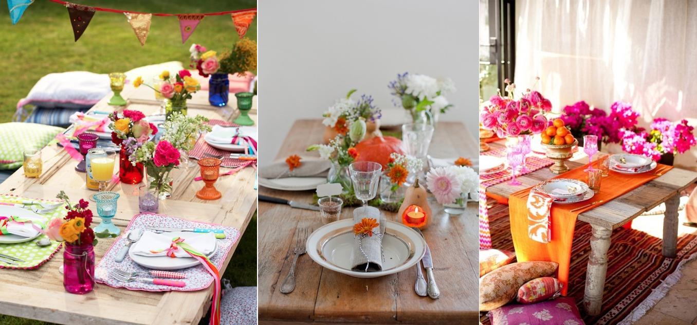 Ideas para decorar la mesa  No es más de lo mismo