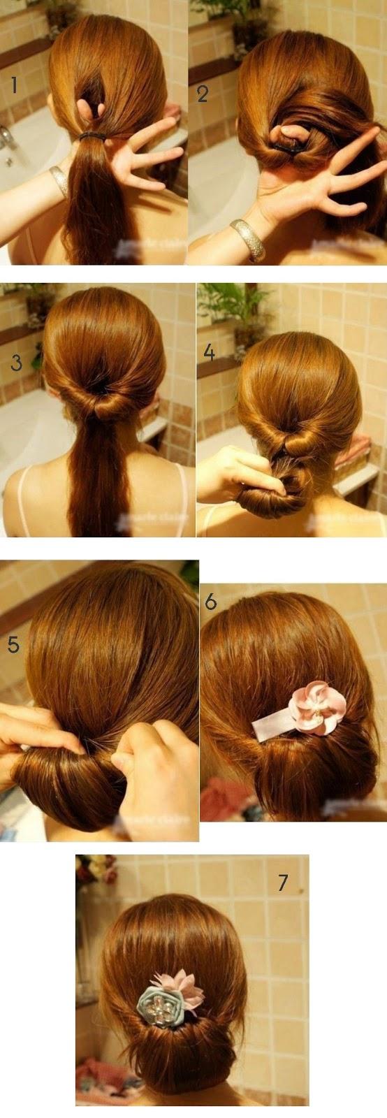 Peinados de fiesta para sorprender no es m s de lo mismo - Tutorial de peinados ...