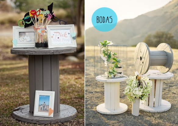 Bobinas-Cable-Decoracion-boda-malanga