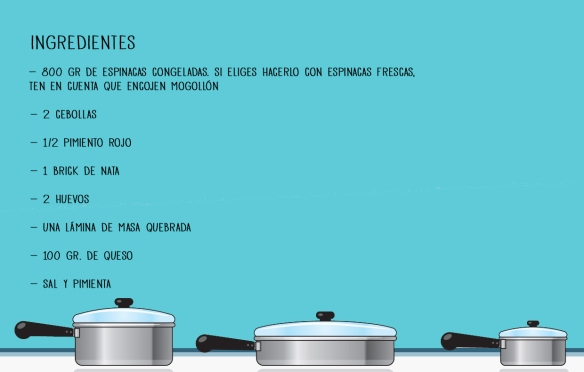 Ingredientes de una Quiche Buenísima